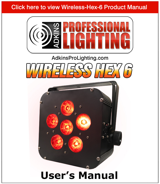 Wireless Hex 6 Product Manual
