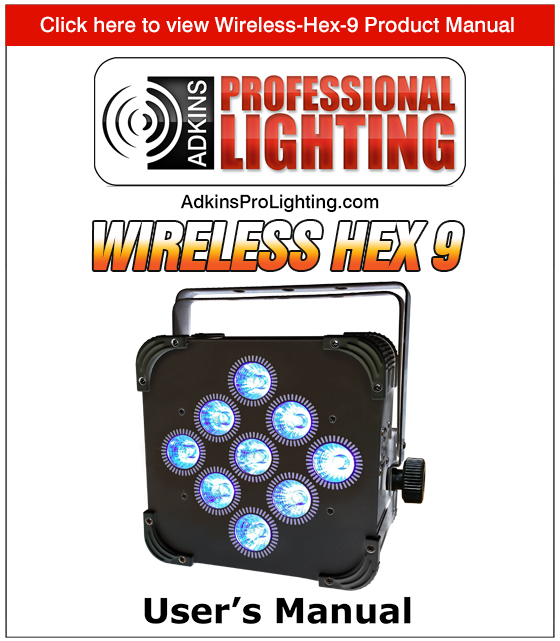 Wireless-Hex-9 Product Manual